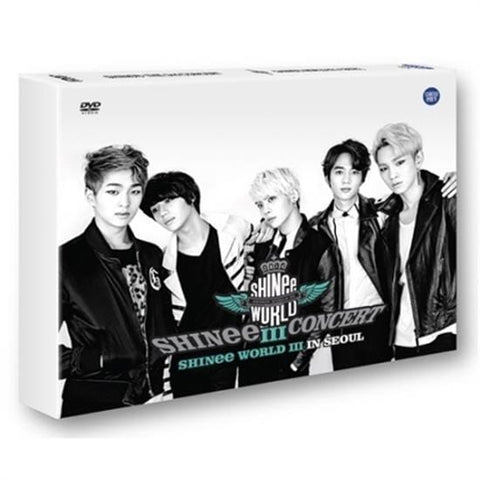 SHINee | 샤이니 | 3rd Concert DVD - SHINee World III in Seoul