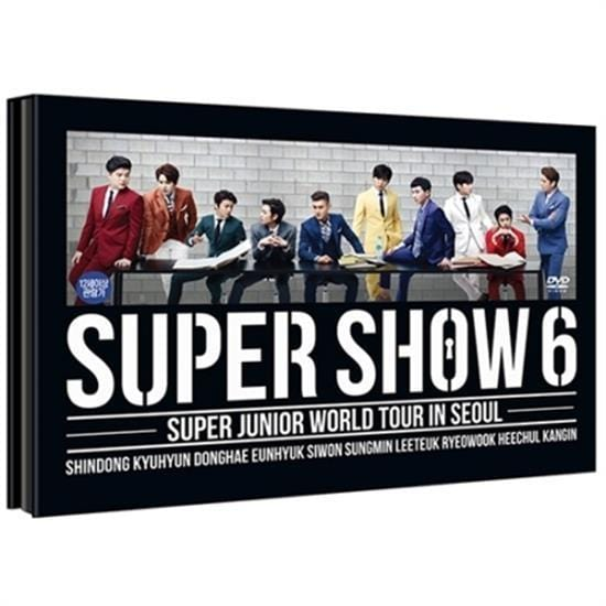 SUPER JUNIOR | 슈퍼주니어 | SUPER SHOW 6 - WORLD TOUR IN SEOUL DVD