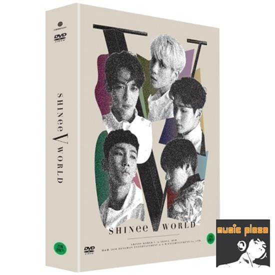 MUSIC PLAZA DVD SHINee | 샤이니 | SHINee World V in Seoul DVD