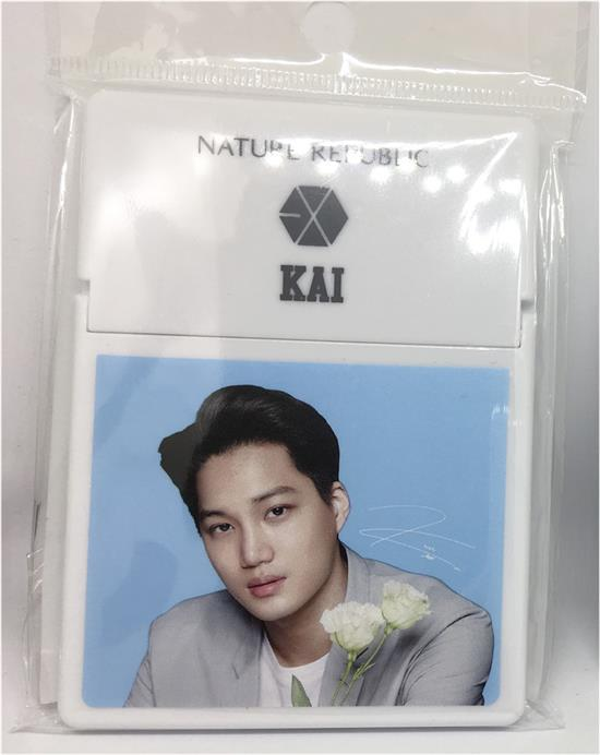 KAI / EXO</strong><br/>NATURE REPULBLIC<br/>OIL BLOTTING PAPER