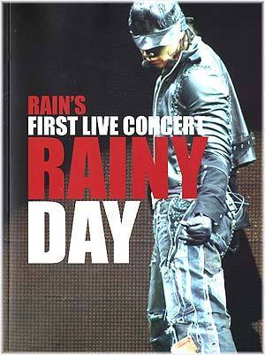 비 Rain Rain's First Live Concert Rainy Day