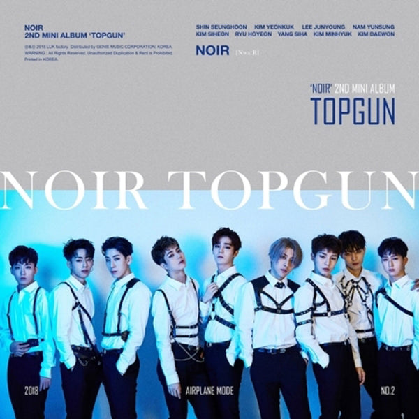NOIR | TOPGUN  - 2ND MINI ALBUM