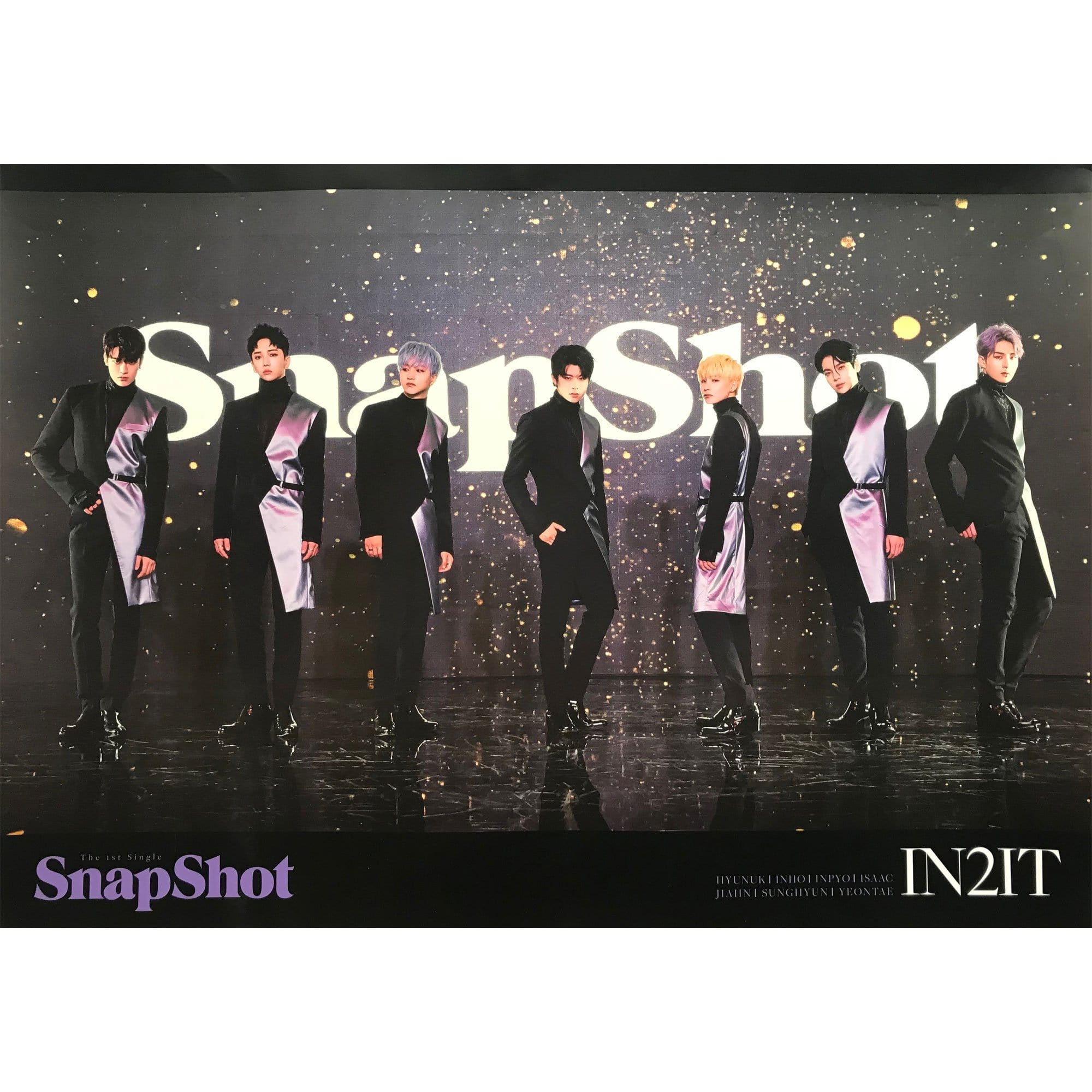 인투잇 | IN2IT | 1st single album - snapshot | POSTER