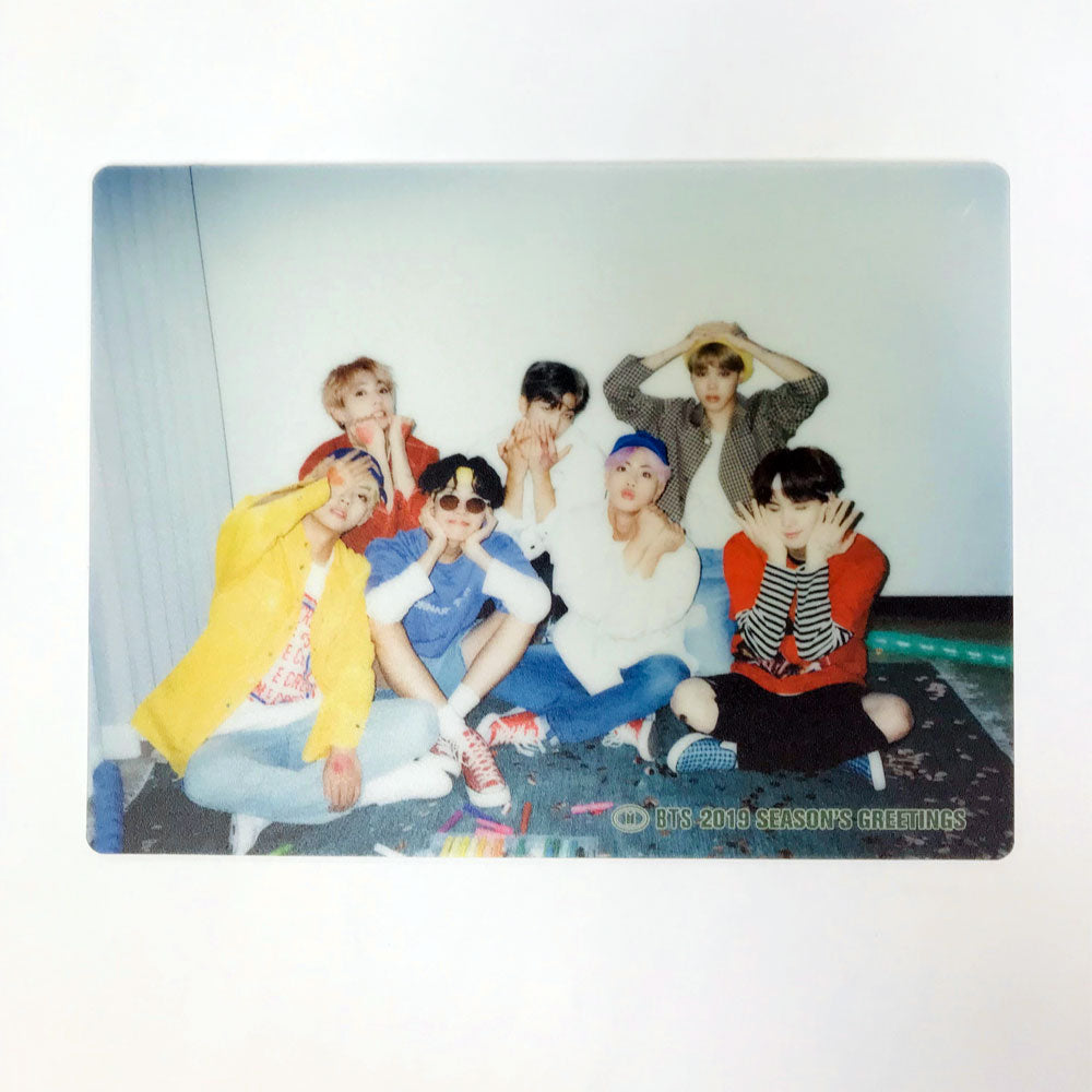 BTS [2019 Season's Greetings] PHOTO MOUSE PAD 2 type