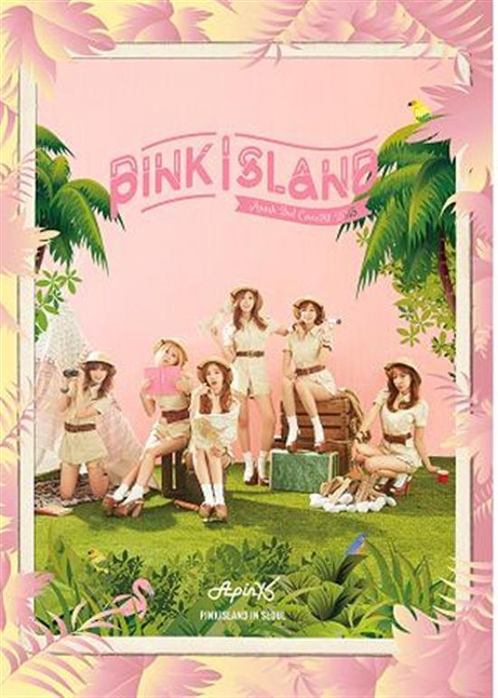<strong>에이핑크 | APINK</strong><br/>2ND CONCERT DVD<br/>PINK ISLAND