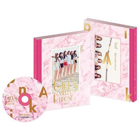 <strong>에이핑크 | APINK</strong><br/>소녀들의 달콤한 휴식 - 화보집<br/>Girl's Sweet Repose - Photo Book