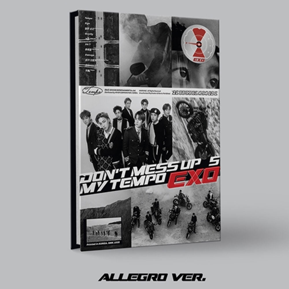 엑소 | EXO 5TH ALBUM [ DON'T MESS UP MY TEMPO ]