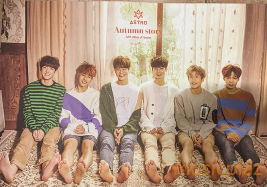 Astro | 아스트로 | AUTUMN STORY-ORANGE VER POSTER ONLY