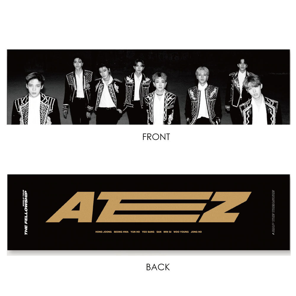 ATEEZ REFLECTION SLOGAN [ WORLD TOUR THE FELLOWSHIP : MAP THE TREASURE ]