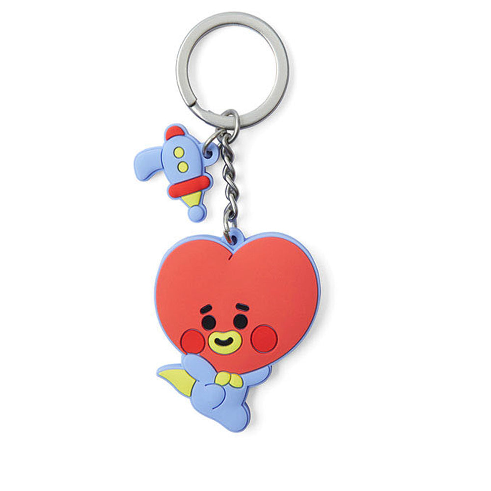 BT21 BABY SILICONE KEYRING | OFFICIAL MD