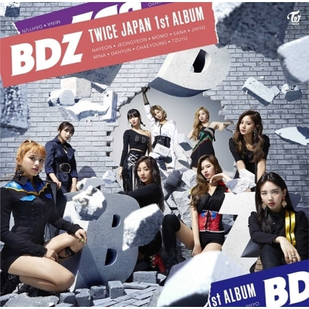 트와이스 (TWICE) - JAPAN 1ST FULL ALBUM [BDZ]