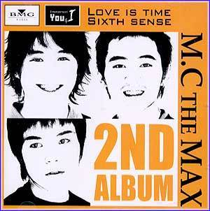 MusicPlaza CD M.C The Max 엠씨더맥스 2집-Love Is Time Sixth Sense