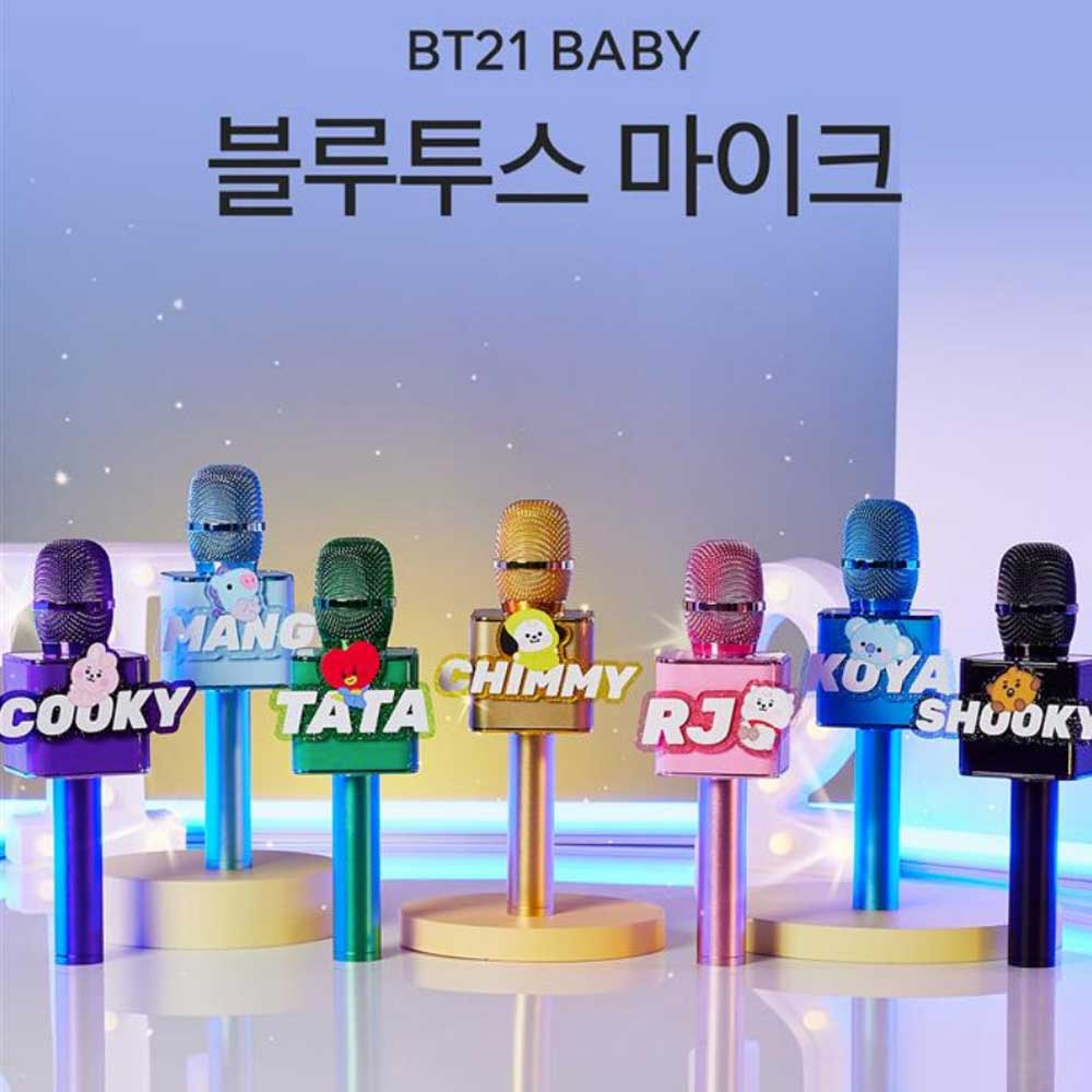BT21 BABY BLUETOOTH 5.0 MIC | OFFICIAL