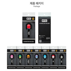 BT21 PHONE MAGNET STRAP HOLDER | OFFICIAL MD