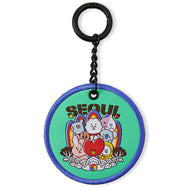THE CITY EDITION BT21 [ WAPPEN KEYRING SEOUL]