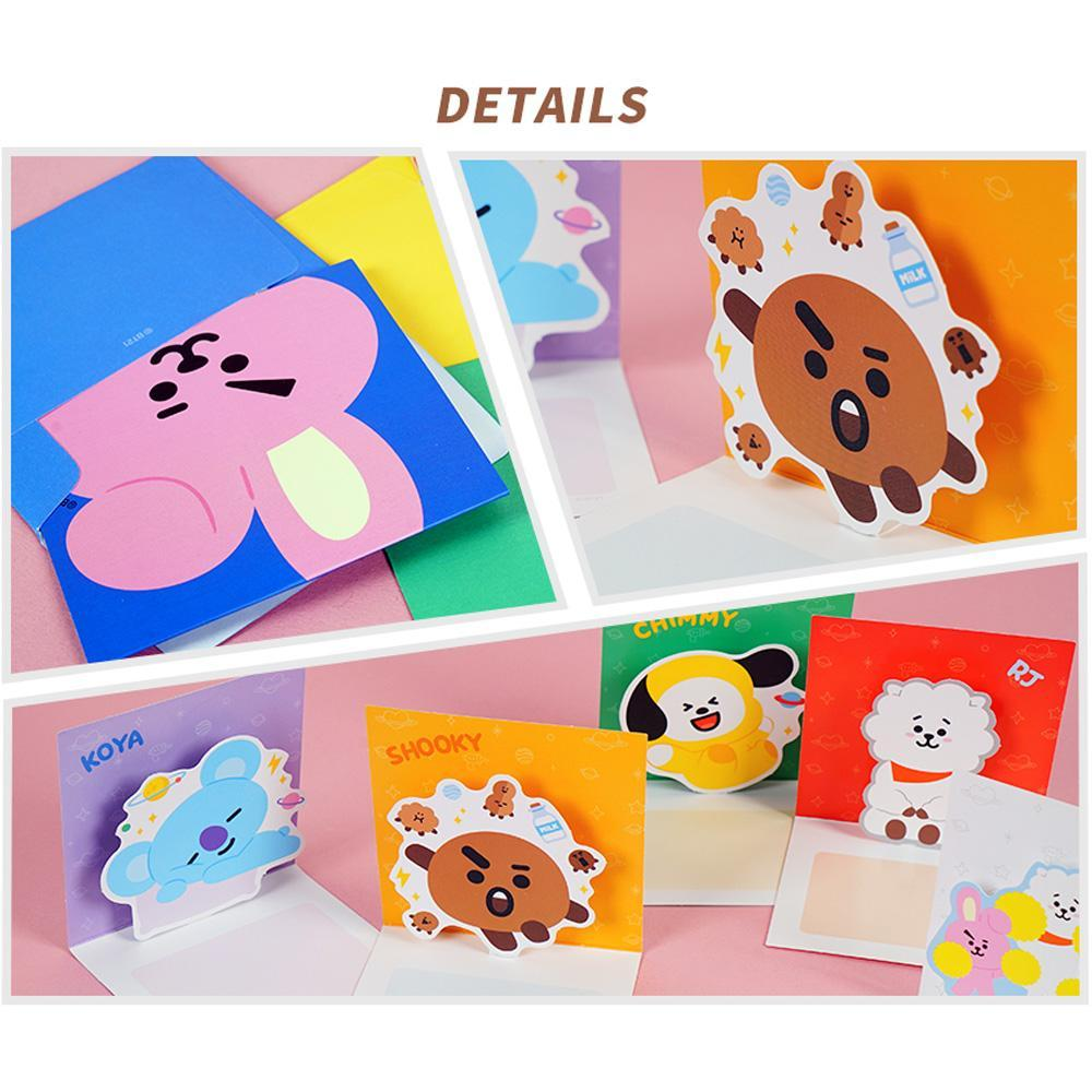 BT21 POP- UP CARD | OFFICIAL MD