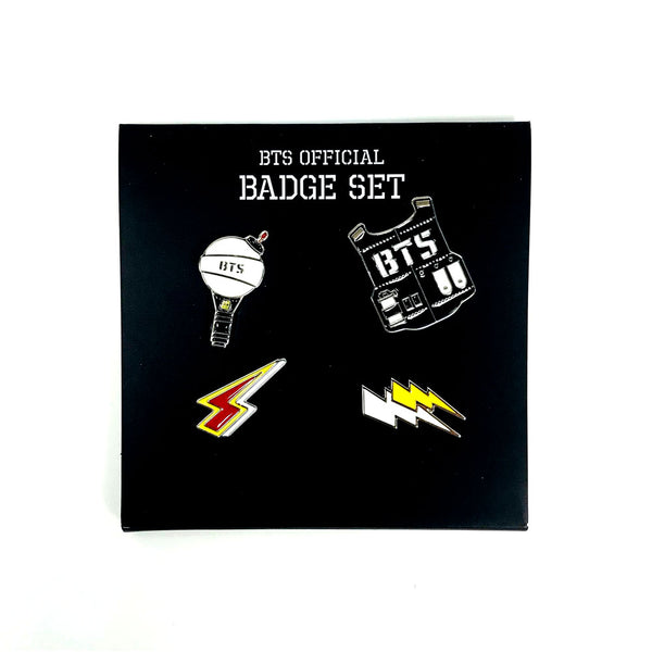 BTS X OFFICIAL BADGE SET