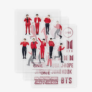 BTS MAP OF THE SOUL ON:E OFFICIAL MD [ LIGHT STICK DECO STICKER ]