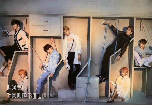 MUSIC PLAZA Poster E BTS | 방탄소년단 | LOVE YOURSELF 結 ''ANSWER'' POSTER ONLY