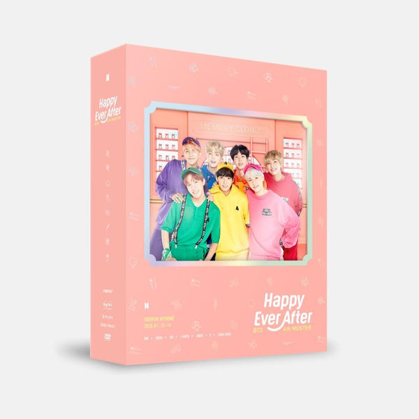 MUSIC PLAZA DVD BTS 4th MUSTER [ Happy Ever After ] DVD