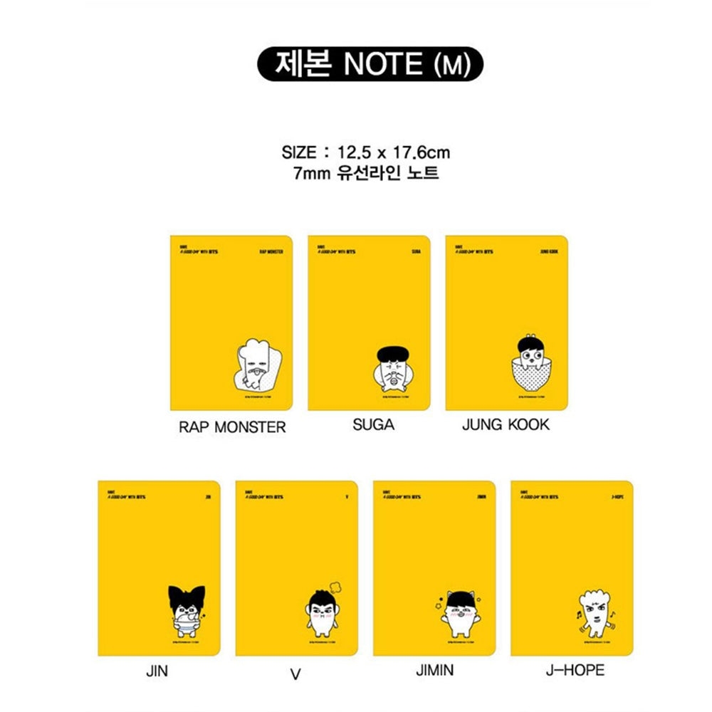 BTS [ HIPHOP MONSTERS NOTEBOOK ]