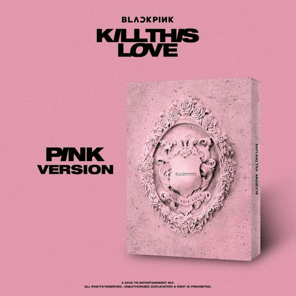 Music Plaza CD Pink Ver. 블랙핑크 | BLACKPINK 2ND MINI ALBUM [ KILL THIS LOVE ]