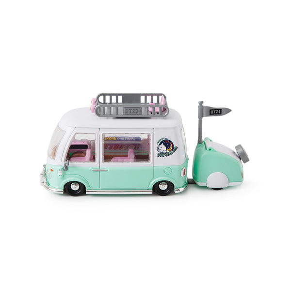 BT21 FIGURE PLAY SET [ CAMPING CAR EDITION ]