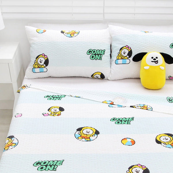 BT21 OFFICIAL RIPPLE BLANKET [ PASSIONATE CHIMMY ]