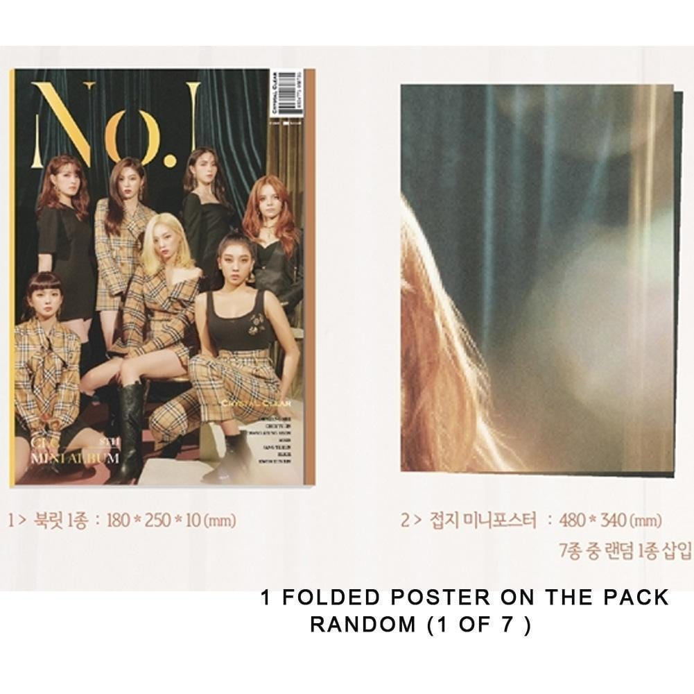 CLC 8TH MINI ALBUM [ NO.1 ]