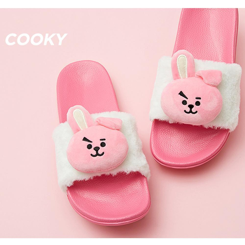 BT21 PLUSH DOLL SLIPPERS | SIZE : 7 and