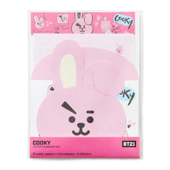 BT21 Letter Stationery Set [ Line Friends Official Goods ]