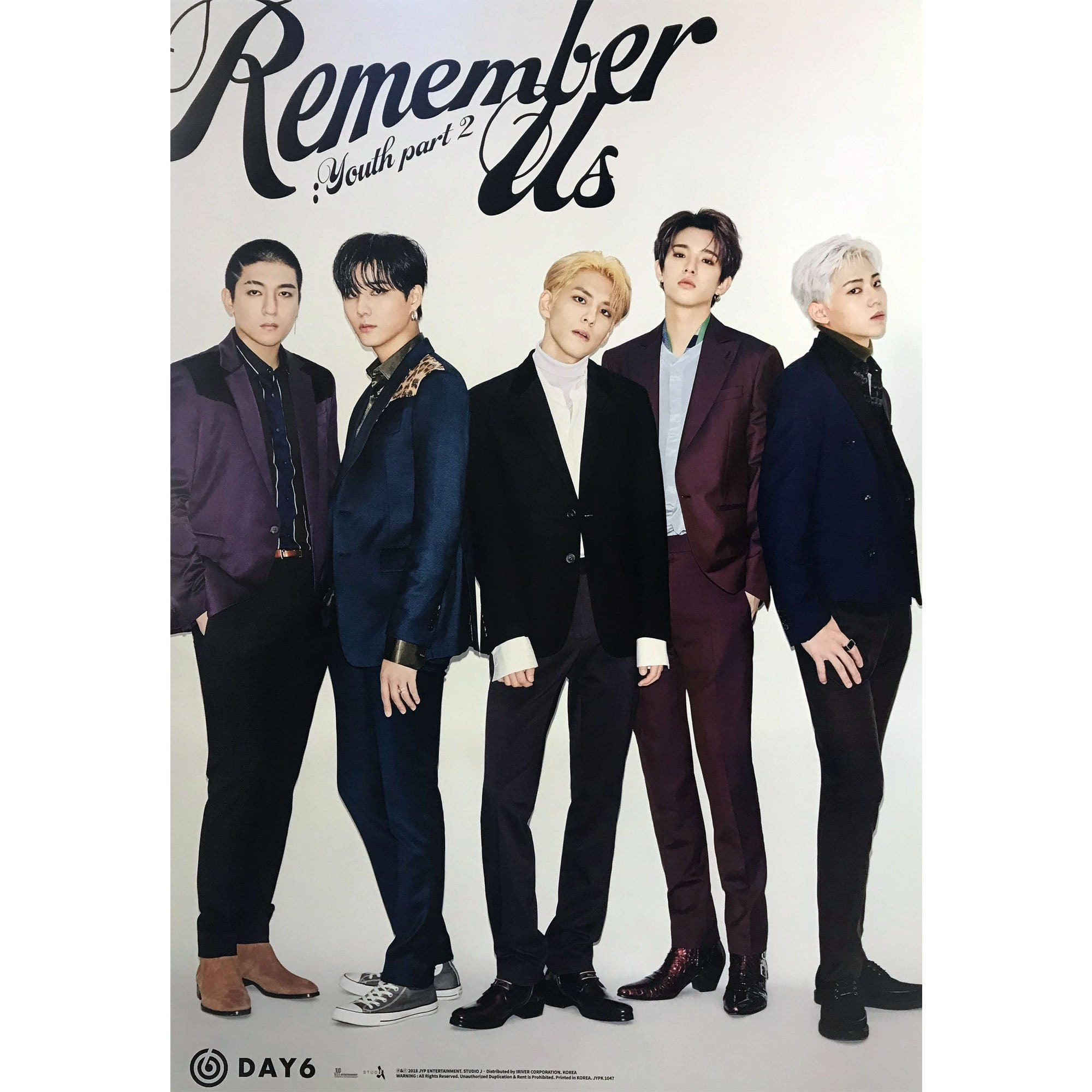 데이식스 | DAY6 | 4TH MINI - REMEMBER US : YOUTH PART 2 | POSTER