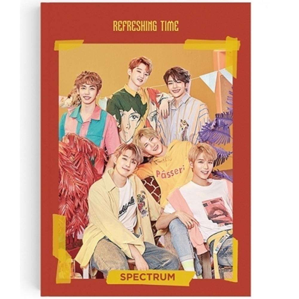 MUSIC PLAZA CD 스펙트럼 | SPECTRUM 3RD SINGLE ALBUM [ REFRESHING TIME ]