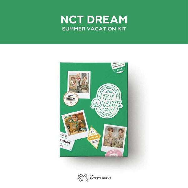 MUSIC PLAZA DVD 엔시티 드림 | NCT DREAM [ 2019 NCT DREAM SUMMER VACATION KIT ]