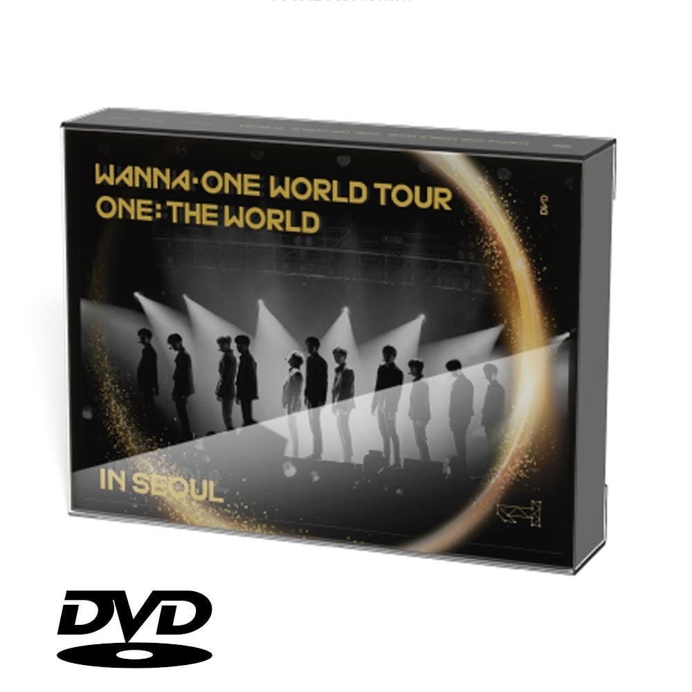 WANNA ONE WORLD TOUR  ONE: THE WORLD IN SEOUL CONCERT DVD