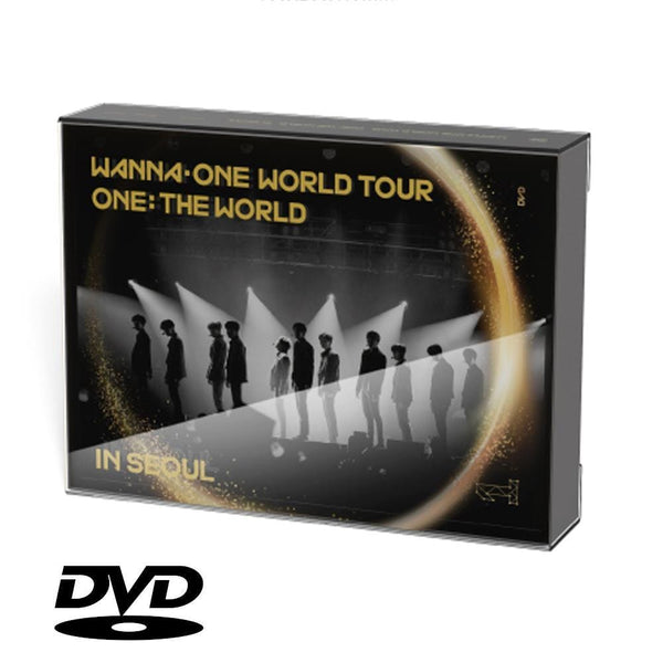 MUSIC PLAZA DVD WANNA ONE WORLD TOUR  ONE: THE WORLD IN SEOUL CONCERT DVD