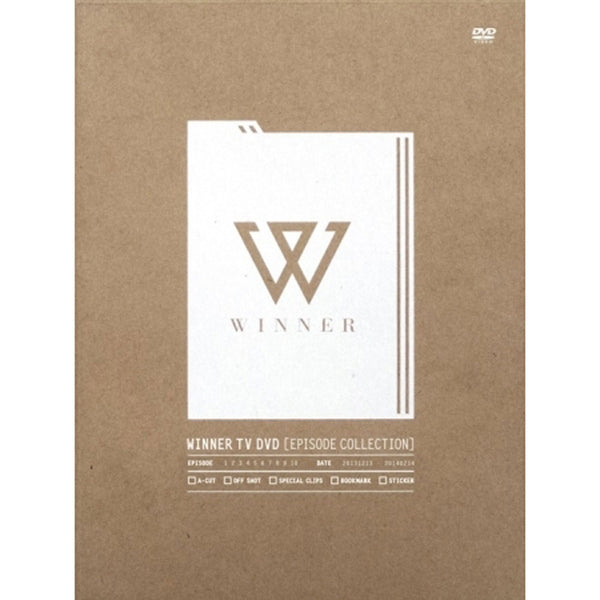 위너 (WINNER) - WINNER TV DVD [EPISODE COLLECTION] (4 DISC)