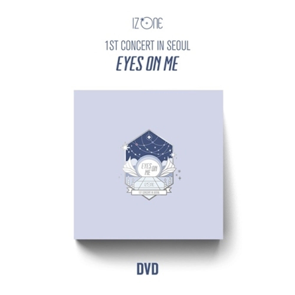 아이즈원 | IZ* ONE 1ST CONCERT IN SEOUL [EYES ON ME] DVD