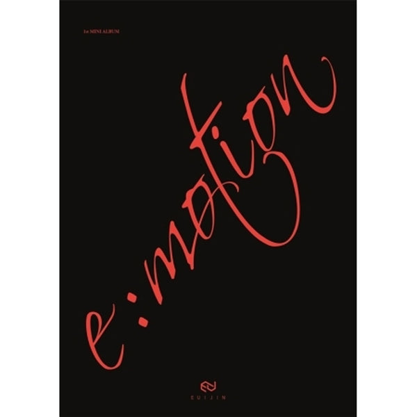 EUIJIN 1ST MINI ALBUM [ E:MOTION ] LIMITED VERSION