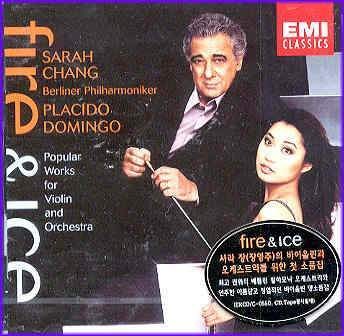 MUSIC PLAZA CD <strong>장영주.도밍고 Chang, Sarah & Doming, Placido | Fire & Ice</strong><br/>
