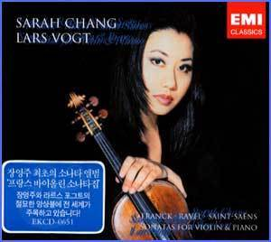 MUSIC PLAZA CD <strong>장영주  Chang, Sarah  | Lars Vogt </strong><br/>