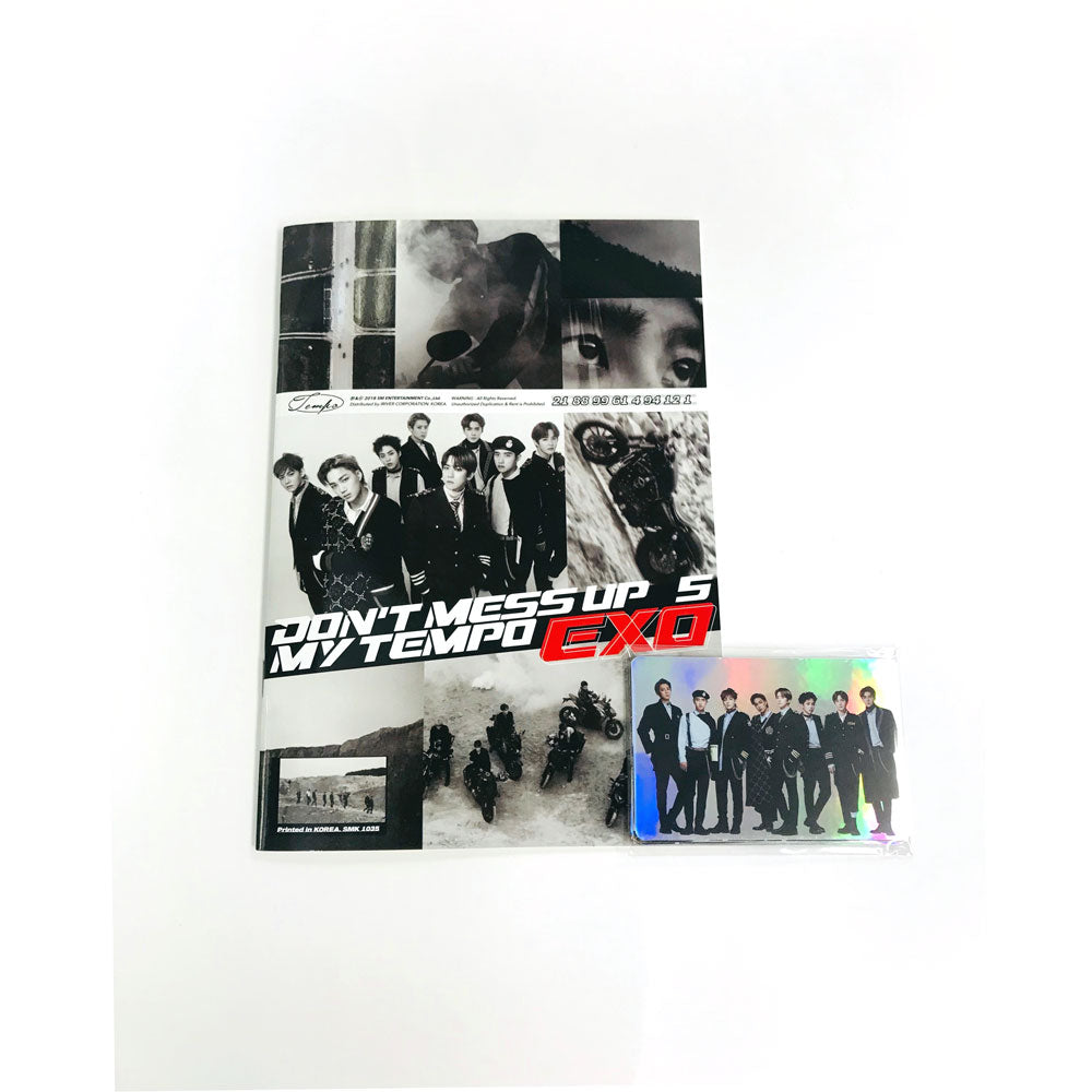 EXO HOLOGRAM STICKER + BOOK SET