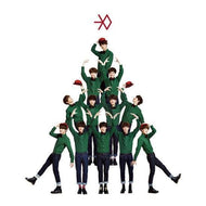 MUSIC PLAZA Poster EXO - K | 엑소 K | 12월의 기적 [ Miracles in December ]  OFFICIAL POSTER