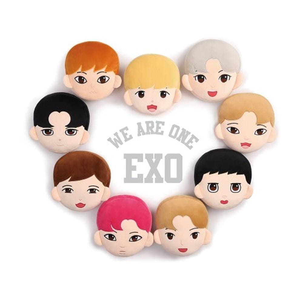 엑소 | EXO CHARACTER CUSHION+1 PHOTO CARD