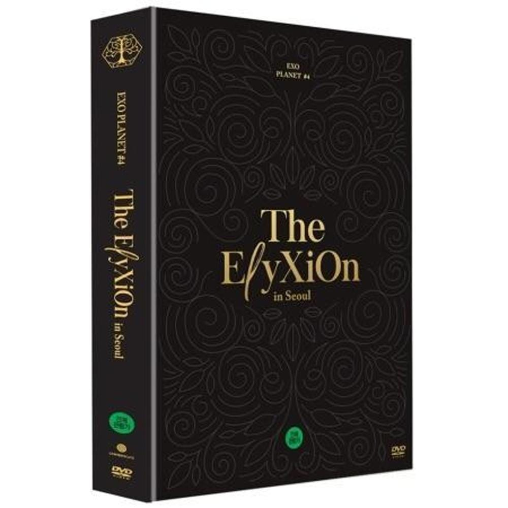 MUSIC PLAZA DVD DVD Only EXO EXO PLANET #4 The ElyXiOn in Seoul DVD + 36 Special Color Post Cards