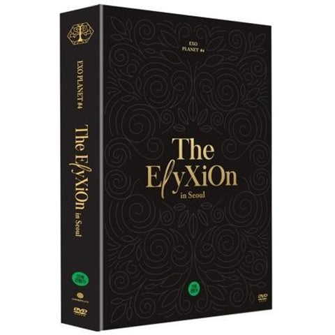 EXO EXO PLANET #4 The ElyXiOn in Seoul DVD + 36 Special Color Post Cards
