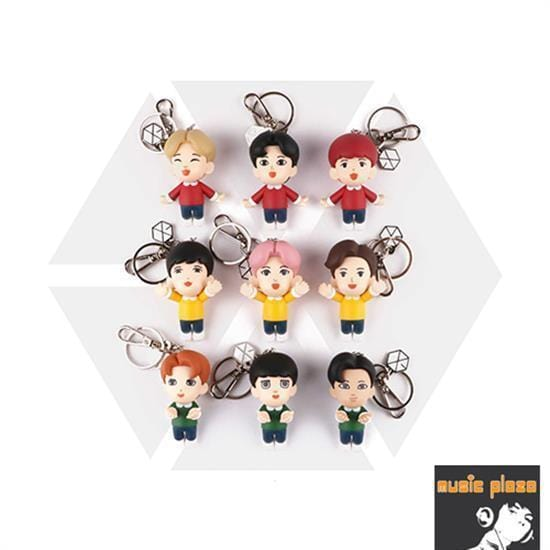 MUSIC PLAZA Goods CHEN EXO | 엑소 | FIGURE KEYRING OFFICIAL GOODS