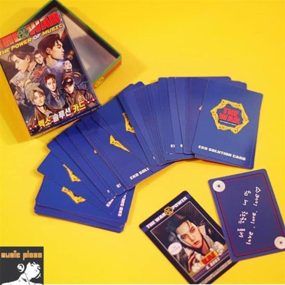 MUSIC PLAZA Goods EXO</strong><br/>THE POWER OF MUSIC SOLUTION CARD SET<br/>SM TOWN SUM OFFICIAL GOODS