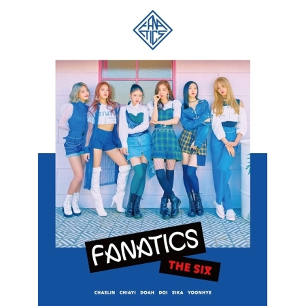 FANATICS 1ST MINI ALBUM [ THE SIX ]