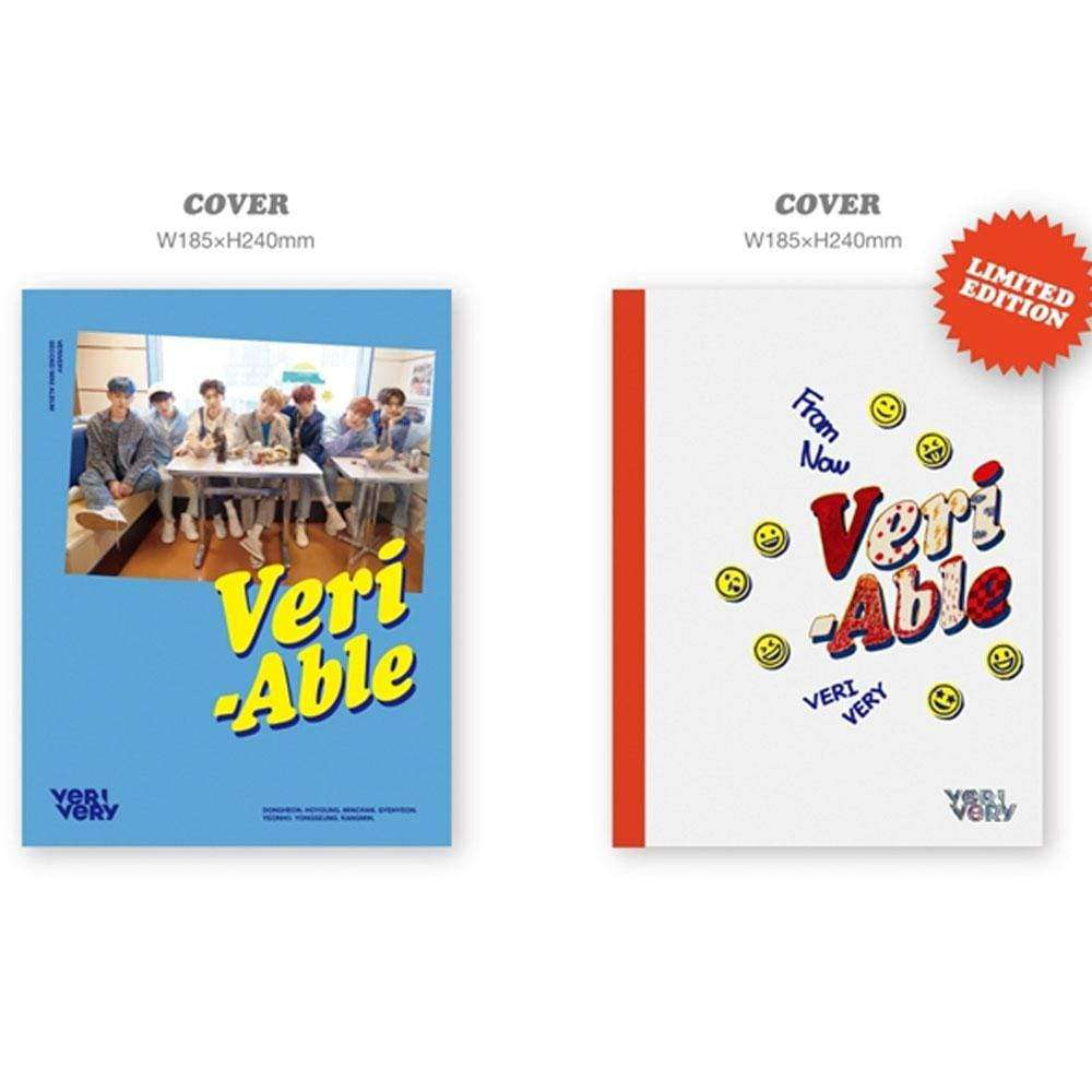 MUSIC PLAZA CD OFFICIAL VER. 베리베리 | VERIVERY 2ND MINI ALBUM [ VERI-ABLE ]